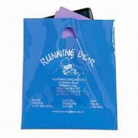 China Promotional Plastic Carrier Bag with Silkscreen Printing wholesale