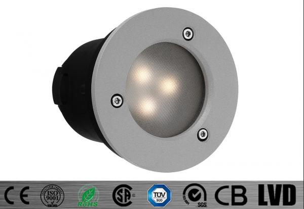 Quality Aluminum Alloy 3*1W 350mA Outdoor LED Step Lights 230V , led recessed step light for sale
