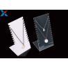 China Jewellery Store Acrylic Necklace Display Stands , Acrylic Necklace Holder Pendant Bracelet wholesale