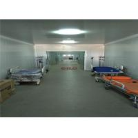 China Red Cross Container Hospital Two Storey Prefabricated Modular Building Units wholesale
