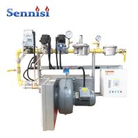 China Adjustment Ratio 1420 W Oil And Gas Burners on sale
