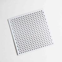 China Powder Coated Round Hole Perforated Metal Sheet wholesale