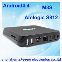 China wholesale tv android box quad core m8s amlogis s812 oem from china factory wholesale