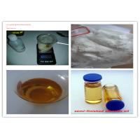 China Solution Test 400 Mg / Ml Pharmaceutical Testosterone Bodybuilding Painless Injection Oil wholesale