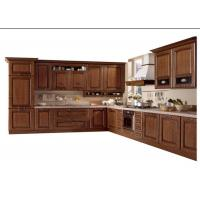 China Modern High End Kitchen Cabinets MDF / Plywood / Solid Wood Door And Drawer Material wholesale