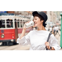 China Pink BSCI 380ml Vacuum Insulated Stainless Steel Travel Mug wholesale