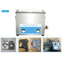 China Digital Timer Mechanical Ultrasonic Cleaner For Marine Engine Parts 30L 500 Watt wholesale