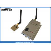 China Miniature FPV / UAV Transmitter 1000m LOS From Air to Ground Wireless AV Link wholesale