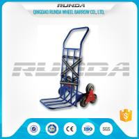 China Foldable Toe Plate Convertible Dolly Cart 28x1.0mm Tube Thickness Six Tyers wholesale