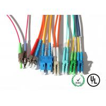 China Cordón de remiendo de la fibra óptica de la chaqueta amarilla 10m para el equipo de prueba/CATV wholesale