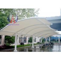 China Solid Motorbike / Car Parking Tensile Structure / Tensile Car Parking Shades wholesale