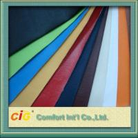 China 0.4mm - 0.7mm Polyurethane Synthetic Leather Fabric For Garment wholesale