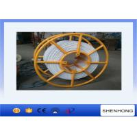 China Overhead Lines Tower Erection Tools Pilot Nylon Double Braid Rope 20mm Diameter 75KN Breaking Load on sale