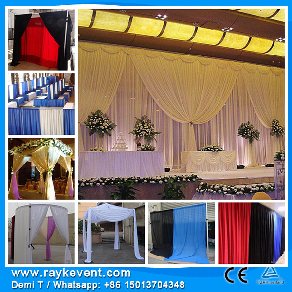 Drapery styles transparent wedding tent party decorations events