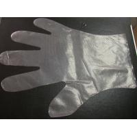 China Hygienic PE plastic gloves for food service wholesale