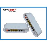 China Light Weight Dual Fiber GPON ONU Router , Hisilicon Chipset FTTH Modem Router wholesale