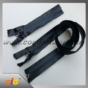 China Brass , Aluminum , Plastic , Derlin , Nylon , Invisible Zipper , Slider , Long Chain Zipper on sale