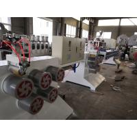 China PET Material Monofilament Making Machine , Monofilament Extrusion Line Easy Operation wholesale