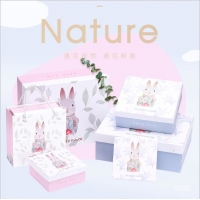 China Cosmetic Perfume Embossing Recycled Paper Gift Boxes wholesale
