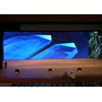 Buy cheap 40000/Sqm Density Indoor Full Color LED Display Waterproof With Sealed Iron Cabinet from wholesalers