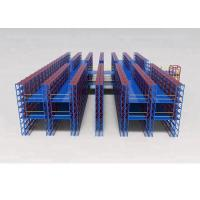 China Multi Layers Pallet Rack Mezzanine Systems Light Duty Shelves For Warehouse Storage on sale