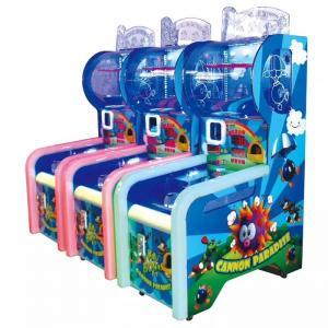 Kids Cannon Paradise Ball Shooting Arcade Machine , Coin Operated Arcade Machine