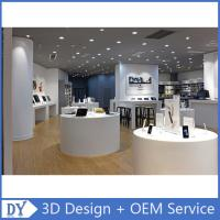 China Customized design store display furniture,mobile phone store furniture with shop counter design wholesale