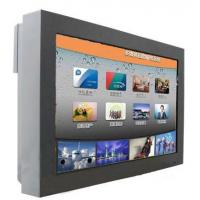 China High Definition Wall Mount Digital Lobby Signage , Outdoor Touch Screen Advertising Kiosk wholesale