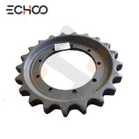 China Aftermarket Caterpillar Undercarriage Parts And Sprockets For Your Cat 302.5C Sprocket Tooth Thickness 35mm wholesale