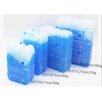 China Energy Saving Cold Gel Packs Ice Cooler Brick Ice Packs For Food Shipping on sale
