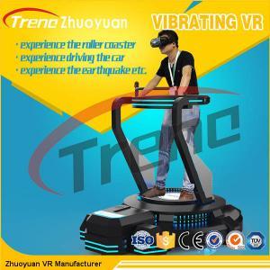 China Video Game VR Theme Park Simulator With Spring Vibration Platform wholesale