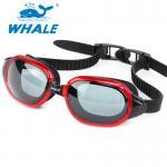 China UV Protection Anti Fog Swim Goggles Watertight Smart Strap Soft Cushion wholesale
