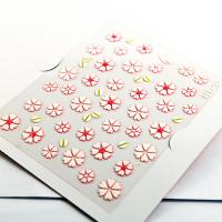 China 3D flower Nail decal Nail Art Decals for fingers with Smooth nail surface wholesale