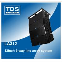 China Compact Line Array Loudspeaker For Stage Performance Professional Sound Systems (LA312) wholesale