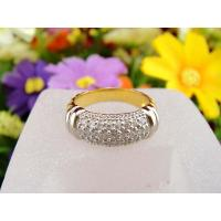 Handmade 925 Sterling Silver Micro Pave White CZ Ring Jewelry