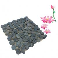 China nature river pebble stone mosaic for home decoration wholesale