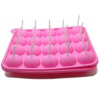 China 20 Holes Cake Lollipop Molds Silicone Ice Tray Lollipop Chocolate Mold wholesale