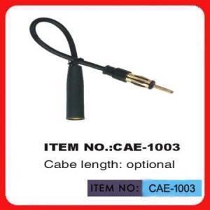China Câble d'extension noir d'antenne de voiture 12 po. de longueur pour l'antenne d'automobile wholesale