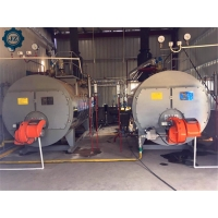 China 3 Ton 3000kg Small Gas Diesel Oil Steam Boilers For Industrial Laundry Wash Machine wholesale