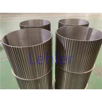 China Sea Water Filtration Johnson Wedge Wire Screens Strong Construction ISO Certification wholesale
