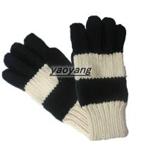 China New styles and high quality ladies fashion knitted gloves KL025 wholesale