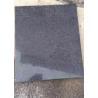 China Dark grey black granite new G654 Padang Dark polished slab tile wholesale