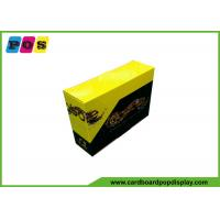 CMYK Full Color Printed Product Packaging Boxes With Micro Cutting CDU076