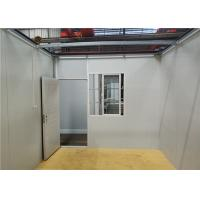 China Steel Door Prefabricated Container House For Mining Camp / Labor Room on sale