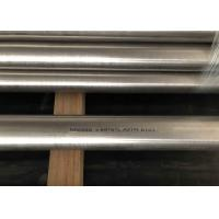 China Inconel 600 Pipe , 0.7 - 3mm Thickness  Nickel Alloy Pipe , ASTM B167 UNS N06600 Tube on sale