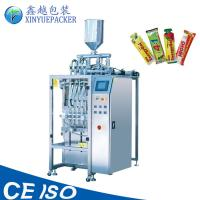 China Capacity Increasing Stick Packaging Machines , Automatic Sauce Packaging Machine wholesale
