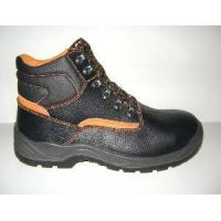 China Black Leather Steel Toe Cap&Plate Safety Shoes with CE Standard (ABP1-5036) wholesale