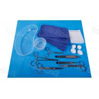 China General Dressing Minor Procedure Pack , Disposable Hospital Procedure Kit Sterile Surgical Operating Kit wholesale