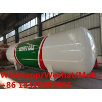 China 2019s new manufactured 45cbm 20tons bulk propane gas storage tankers for sale, HOT SALE! stationary lpg gas tanker wholesale