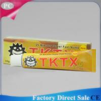 2016 10g OEM TKTX38% Anaesthetic Numbs Pain Killer Cream Pain Stop Cream Pain Relief Cream For Tattoo Factory Supply